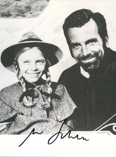 MAXIMILIAN SCHELL - AUTOGRAPHED SIGNED PHOTOGRAPH