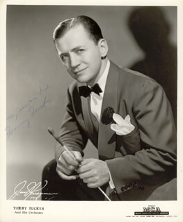 TOMMY LITTLE TOMMY TUCKER TUCKER - AUTOGRAPHED SIGNED PHOTOGRAPH
