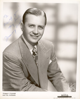 TOMMY LITTLE TOMMY TUCKER TUCKER - AUTOGRAPHED INSCRIBED PHOTOGRAPH
