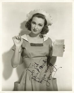 ROSEMARY LANE - AUTOGRAPHED SIGNED PHOTOGRAPH