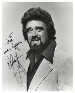 ROBERT WOLFMAN JACK SMITH - AUTOGRAPHED INSCRIBED PHOTOGRAPH