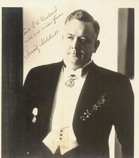 LAURITZ MELCHIOR - AUTOGRAPHED INSCRIBED PHOTOGRAPH