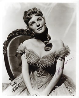JULIE LONDON - AUTOGRAPHED SIGNED PHOTOGRAPH