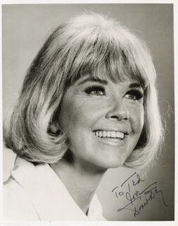 DORIS DAY - AUTOGRAPHED INSCRIBED PHOTOGRAPH