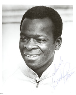 BROCK PETERS - AUTOGRAPHED SIGNED PHOTOGRAPH  - HFSID 200133