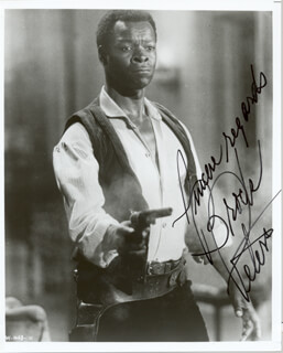 BROCK PETERS - AUTOGRAPHED SIGNED PHOTOGRAPH  - HFSID 200134