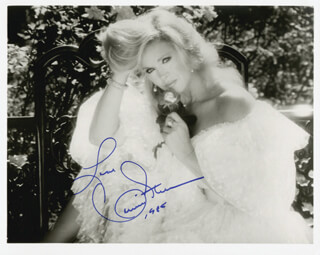 CONNIE STEVENS - AUTOGRAPHED SIGNED PHOTOGRAPH 1985