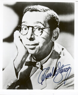 ARNOLD STANG - AUTOGRAPHED SIGNED PHOTOGRAPH