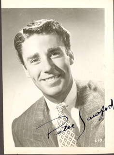 PETER LAWFORD - AUTOGRAPHED SIGNED PHOTOGRAPH