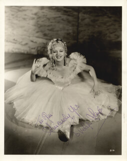 EVELYN LAYE - AUTOGRAPHED INSCRIBED PHOTOGRAPH