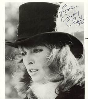 CANDY CLARK - AUTOGRAPHED SIGNED PHOTOGRAPH 1980