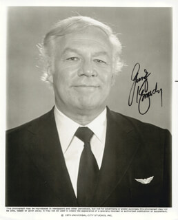GEORGE KENNEDY - AUTOGRAPHED SIGNED PHOTOGRAPH