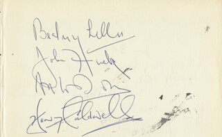 BEATRICE LILLIE - AUTOGRAPH CO-SIGNED BY: JOHN PHILIP HUCK