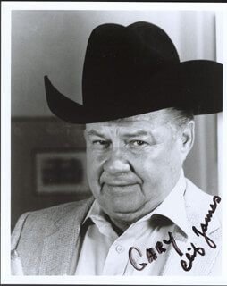 CLIFTON JAMES - AUTOGRAPHED SIGNED PHOTOGRAPH