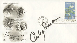 CARLY SIMON - FIRST DAY COVER SIGNED