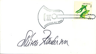 SKITCH HENDERSON - ENVELOPE SIGNED CIRCA 1978