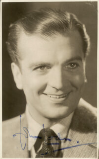 JOHN LODER - PICTURE POST CARD SIGNED