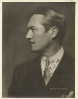 EDMUND LOWE - AUTOGRAPHED INSCRIBED PHOTOGRAPH