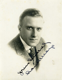 FRANK MAYO - AUTOGRAPHED SIGNED PHOTOGRAPH