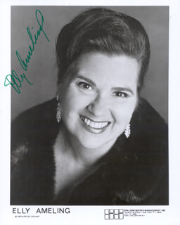 Autographs: ELLY AMELING - PRINTED PHOTOGRAPH SIGNED IN INK