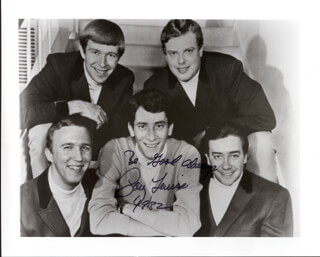 GARY LEWIS AND THE PLAYBOYS (GARY LEWIS) - AUTOGRAPHED SIGNED PHOTOGRAPH 1982