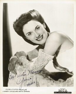 GLORIA FOSTER - AUTOGRAPHED INSCRIBED PHOTOGRAPH