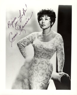 CONNIE HAINES - AUTOGRAPHED SIGNED PHOTOGRAPH