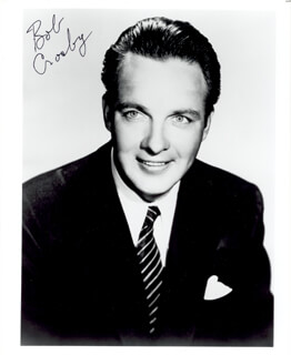 BOB (GEORGE ROBERT) CROSBY - AUTOGRAPHED SIGNED PHOTOGRAPH
