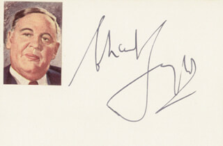 CHARLES LAUGHTON - AUTOGRAPH