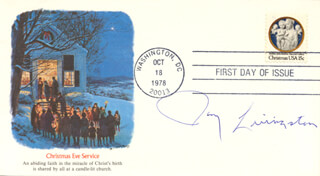 JAY LIVINGSTON - FIRST DAY COVER SIGNED