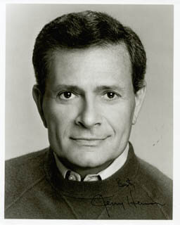 JERRY HERMAN - AUTOGRAPHED SIGNED PHOTOGRAPH