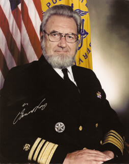GENERAL C. EVERETT KOOP - AUTOGRAPHED SIGNED PHOTOGRAPH