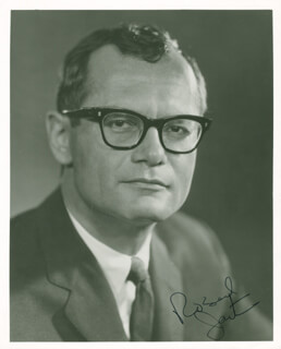 ROBERT JAYSTROW - AUTOGRAPHED SIGNED PHOTOGRAPH