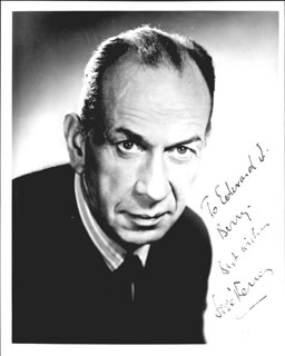 JOSE FERRER - AUTOGRAPHED INSCRIBED PHOTOGRAPH