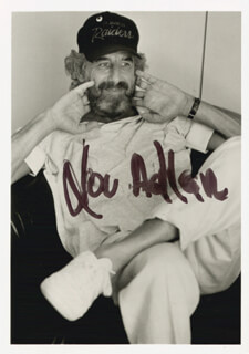 Autographs: LOU ADLER - PHOTOGRAPH SIGNED