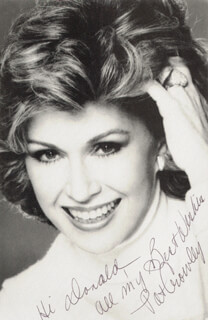 PAT CROWLEY - AUTOGRAPHED INSCRIBED PHOTOGRAPH