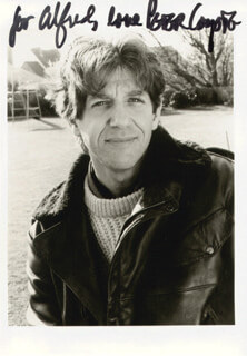 PETER COYOTE - AUTOGRAPHED INSCRIBED PHOTOGRAPH