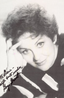 GOGI GRANT - INSCRIBED PICTURE POSTCARD SIGNED