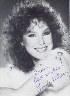 LINDA KELSEY - AUTOGRAPHED INSCRIBED PHOTOGRAPH