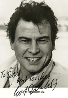 HORST BUCHHOLZ - AUTOGRAPHED INSCRIBED PHOTOGRAPH