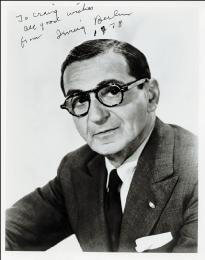 IRVING BERLIN - AUTOGRAPHED INSCRIBED PHOTOGRAPH 1978