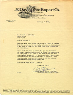 GOVERNOR MARTIN L. DAVEY - TYPED LETTER SIGNED 02/03/1932