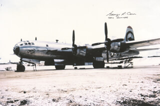 ENOLA GAY CREW (GEORGE R. CARON) - AUTOGRAPHED SIGNED PHOTOGRAPH