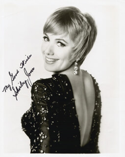 SHIRLEY JONES - AUTOGRAPHED SIGNED PHOTOGRAPH