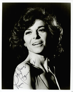 ANNE BANCROFT - AUTOGRAPHED INSCRIBED PHOTOGRAPH