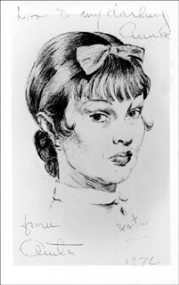 ANITA LOOS - AUTOGRAPHED SIGNED PHOTOGRAPH 1970