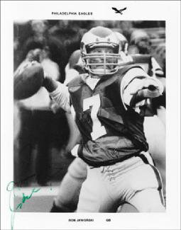RON JAWS JAWORSKI - AUTOGRAPHED SIGNED PHOTOGRAPH