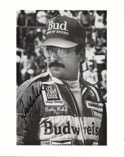 BOBBY RAHAL - AUTOGRAPHED SIGNED PHOTOGRAPH