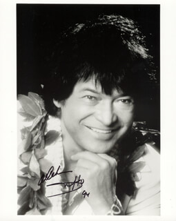 DON HO - AUTOGRAPHED SIGNED PHOTOGRAPH 1994
