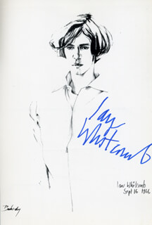 IAN WHITCOMB - PRINTED ART SIGNED IN INK